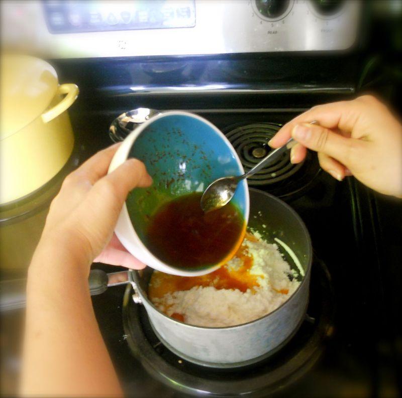 Saffronpudding
