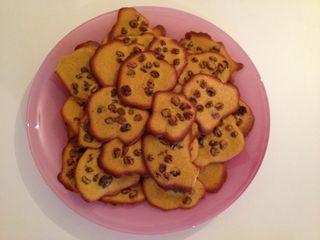 Saffronrasincookies